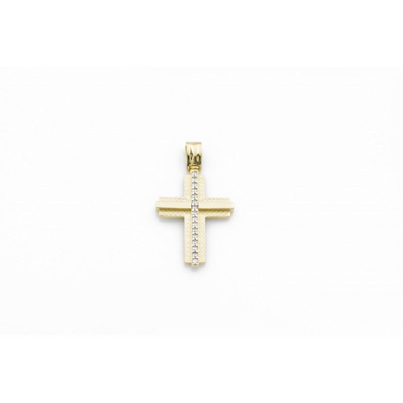 Σταυρός με Ζιργκόν 71175