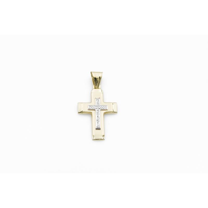 Σταυρός με Ζιργκόν 87373