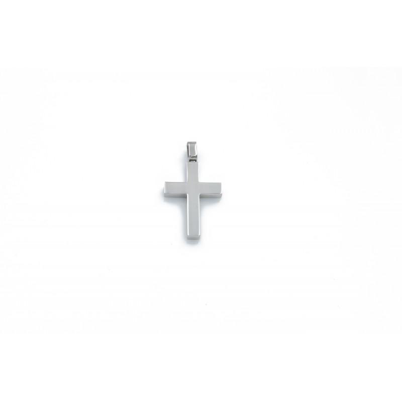 Whitegold k14 cross 95529