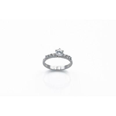 Δακτυλίδι μονόπετρο 87394