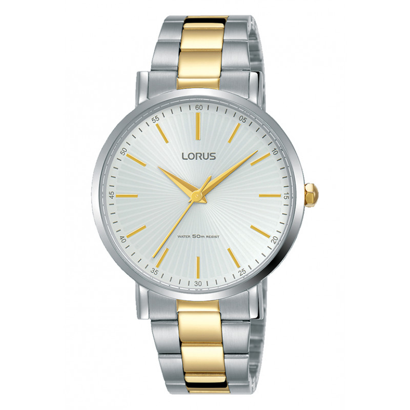 Lorus Classic Two Tone Stainless Steel Bracelet RG217QX9