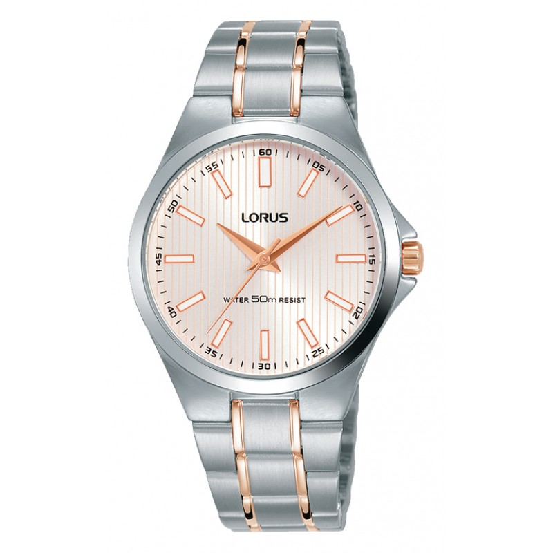 Lorus Classic Two Tone Stainless Steel Bracelet RG225PX9