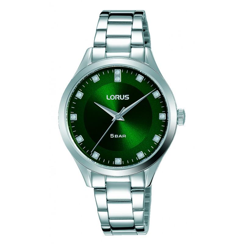 Lorus Green Ladies Watch RG299QX9