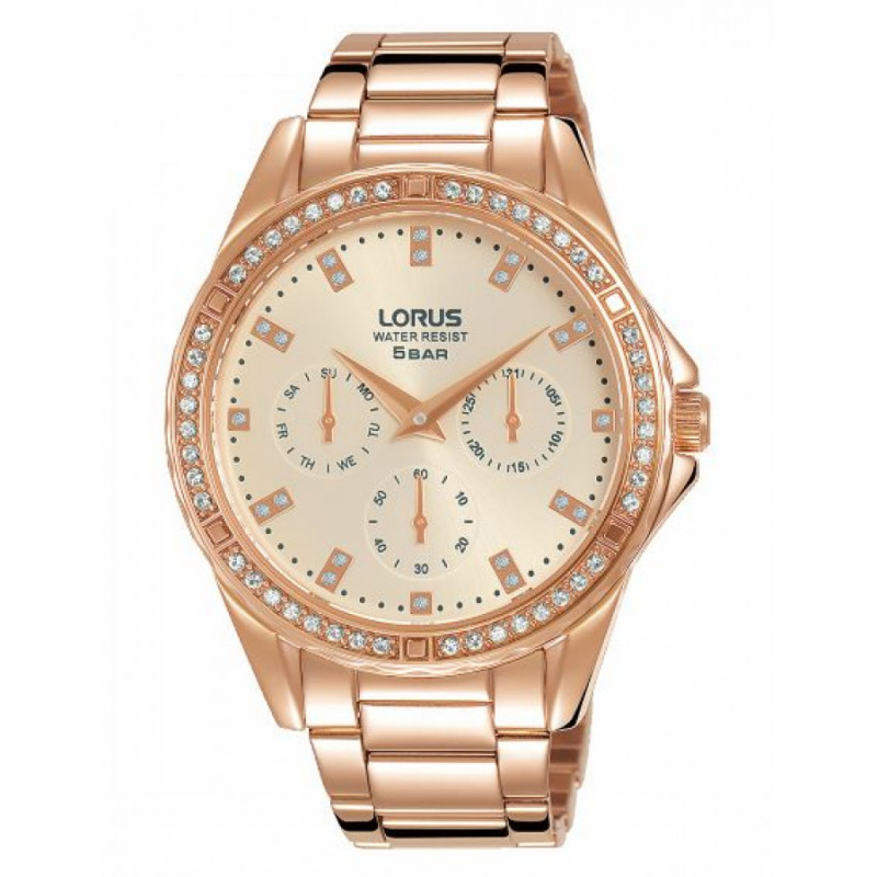 Lorus day Date lady Rose Gold RP646DX9