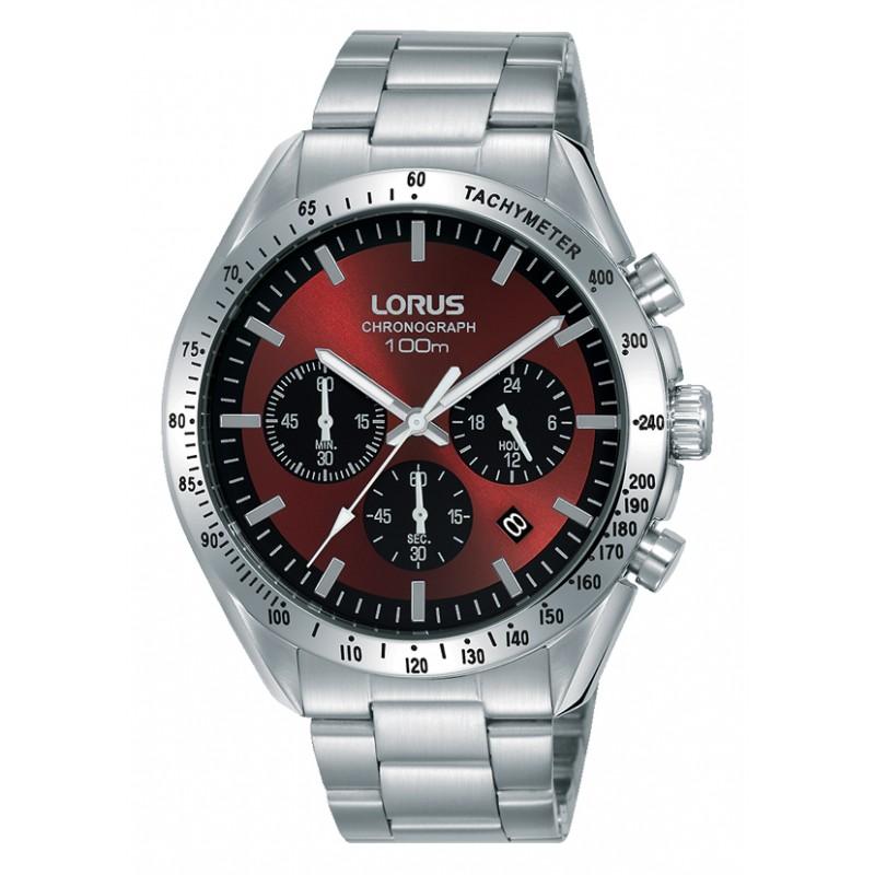 Lorus Chrono Stainless Steel Bracelet RT337HX9