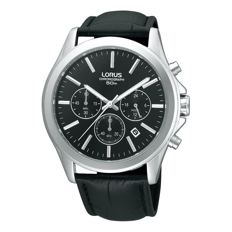 Lorus Black Chronograph RT379AX9