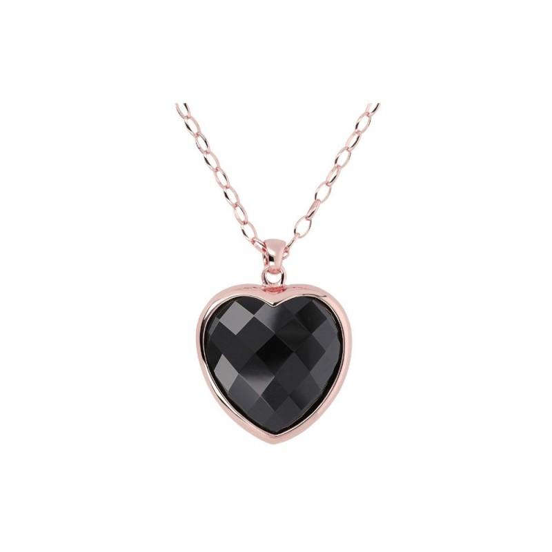 Bronzallure Heart Black WSBZ00048.B