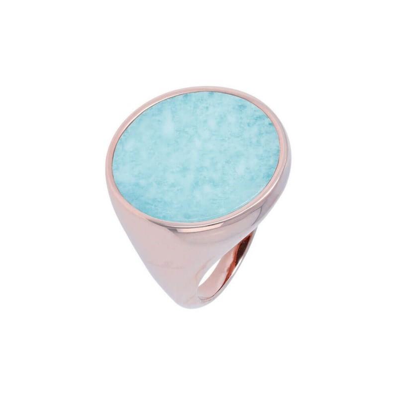 Bronzallure ring with Amazonite WSBZ00711.AZ