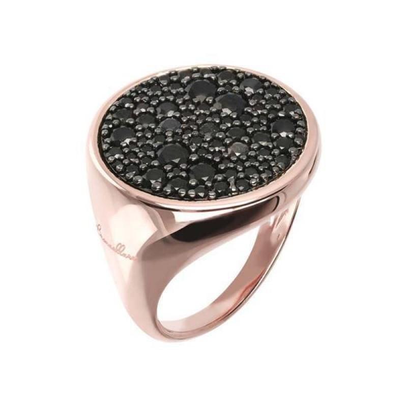 Bronzallure Ring Black Spinel WSBZ00831.BS