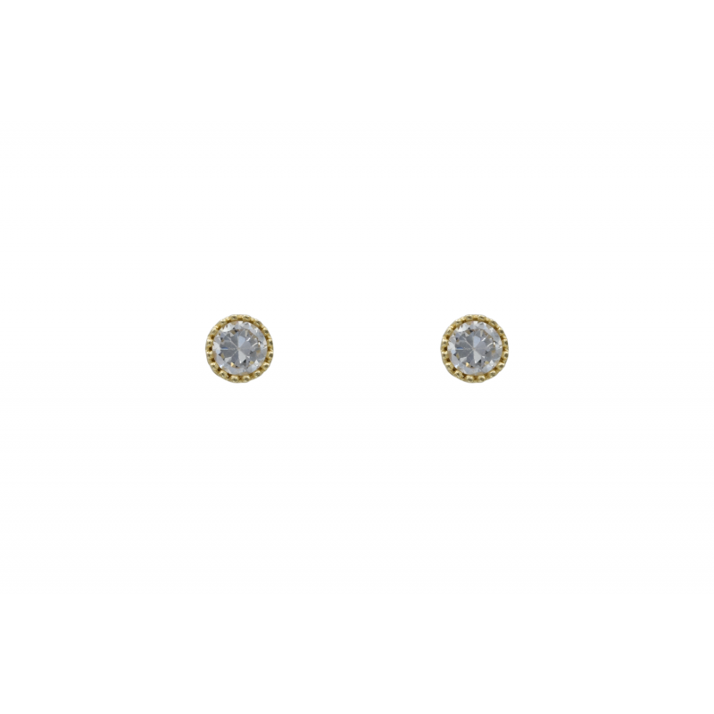 Gold k14 earings 75105