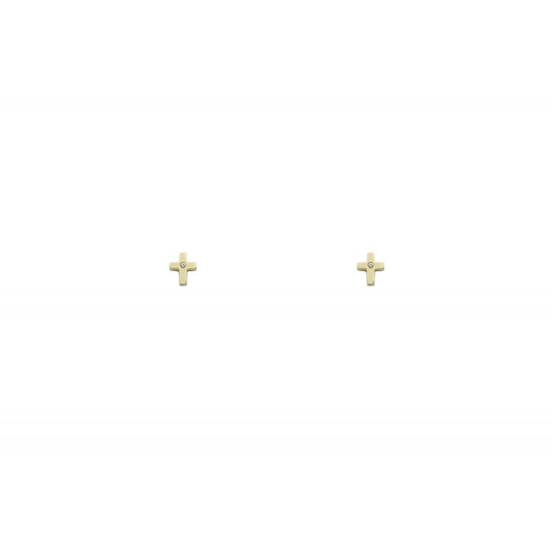 Cross Earings k14 89925