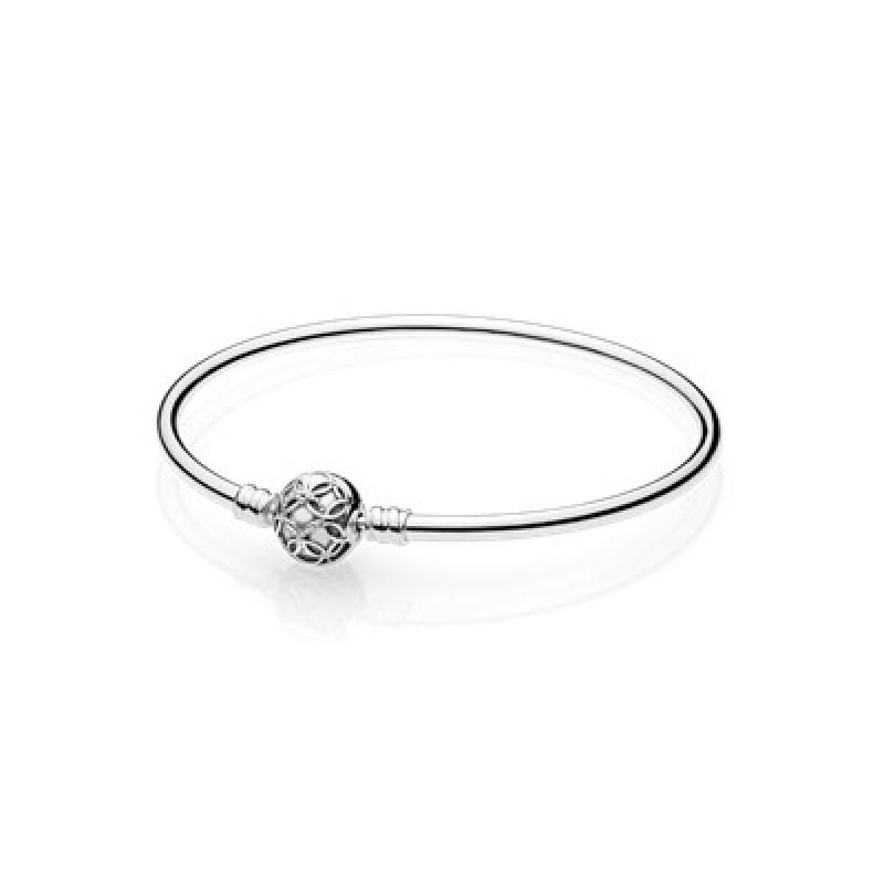 Pandora Silver Bangle 597137