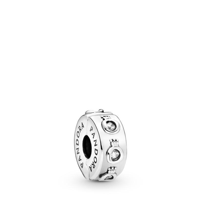 Clip silver 925 with CZ 798326CZ
