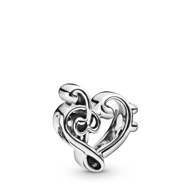 Σύμβολο ασ.925, καρδιά κλειδί το σολ 798346
